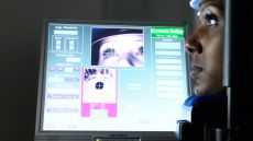 Eye tracking equipment