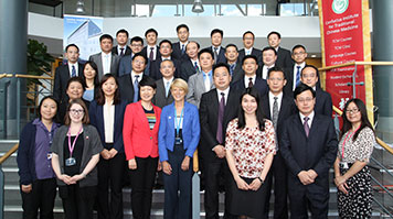 A delegation from 22 Chinese universities visited LSBU
