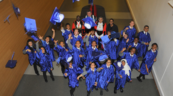 Childrens graduations at LSBU