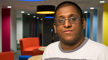 Arun Aravinth Bhaskaran, Accounting and Finance BA, joined through Clearing