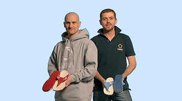 FitFlop creators Dr Dave Cook and Dr Darren James