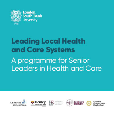 Leading local health and care systems