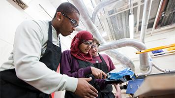 LSBU BME students School of Engineering