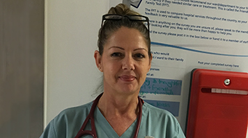 Advanced Nurse Practitioner Helen Keeling
