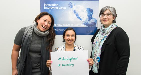 Event coordinators: Syeda Rahimunnessa, Safia Barikzai and Jennie Hardi