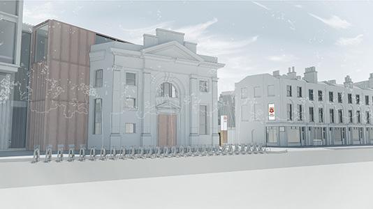London South Bank University (LSBU) St George's Quarter development chapel and Clarence Centre