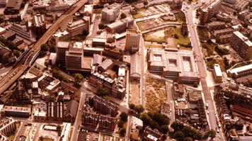 LSBU aerial view