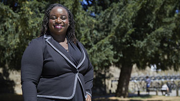 Evelyn Ofori-Koree Esq, alumna, Law LLB Hons