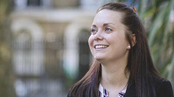 Jackie Tomes, alumna, BA (Hons) Art Management