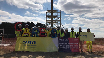 LSBU's engineering students take on Constructionarium 2019