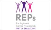 Register Exercise Professionals logo