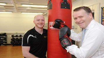 Peter John opens LSBU Sports Centre