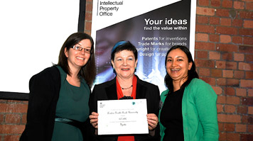 LSBU Ignite team at the StudentshIP Enterprise Awards