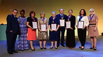Royal College of Nursing new  Fellows