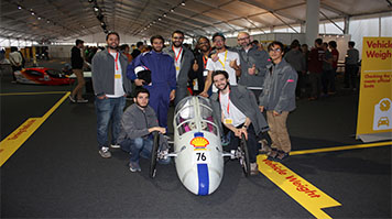 LSBU School of Engineering team compete in the Shell Eco-Marathon