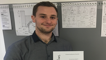 Engineering students win big at the Engineering Sketches Prize