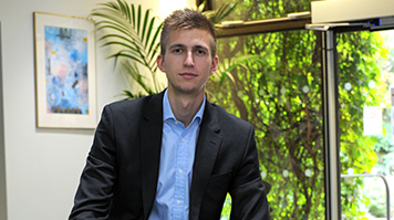 Romans Altuhovs, BA (Hons) Marketing, internship