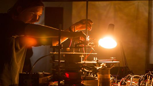 Graham Dunning's Reactor, taken by Jonathan Waring