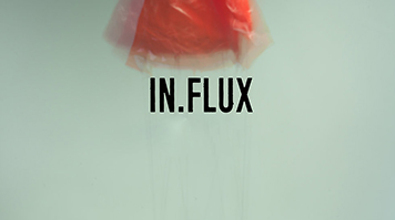 inFlux exhibition poster