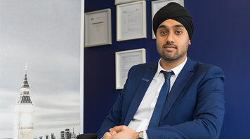 Harmit Bansi, alumnus, BSc (Hons) Property Management (Building Surveying)