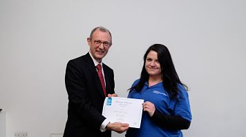 Martina Eco, LSBU student entrepreneur wins prize