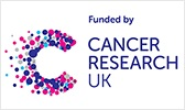 Funded by Cancer Research UK logo