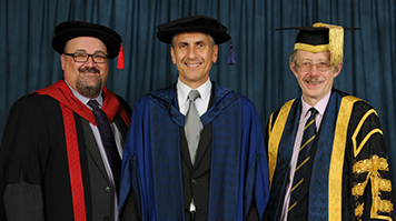 LSBU awards six honorary graduates and fellows