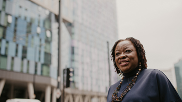 Helen Ankrah, Alumna, BA (Hons) Housing Studies and MSc in Charity Marketing and Fundraising