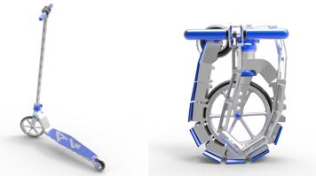 LSBU-folding-scooter