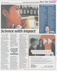 Scan Metro Advertorial Applied Science