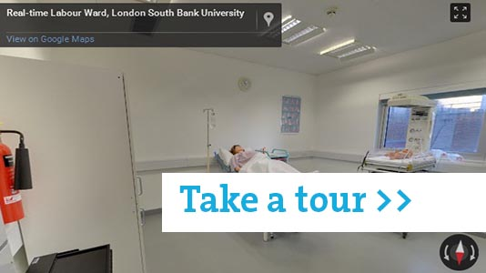 Real-time Labour Ward tour