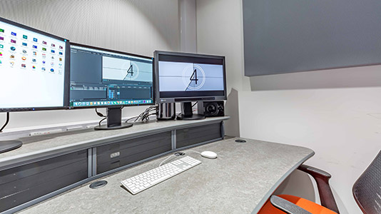 Inside the Edit Suites