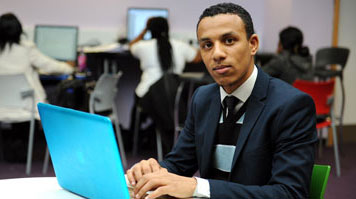 Imedouane Abdoullah, Belgian student, BEng (Hons) Electrical and Electronic Engineering