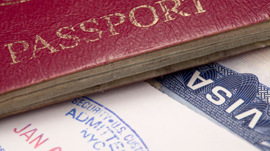 visa and travel information for international students