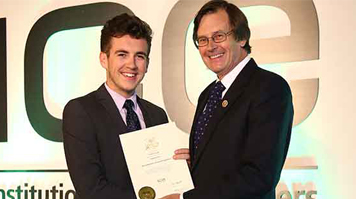 Lloyd Clough, BEng (Hons) Civil Engineering, Jean Venables medal winner