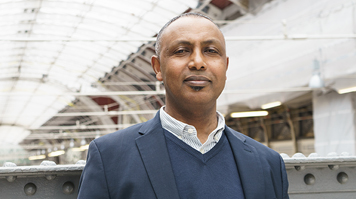 Tamrat Mulugeta, alumnus, BEng (Hons) Electrical and Electronic Engineering