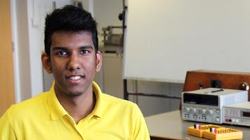 Keshav Ooriah, Student Ambassador