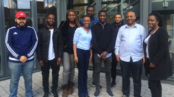 LSBU students attend Start Something boot camp
