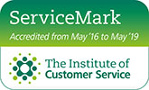 Institute of Customer Service ServiceMark logo