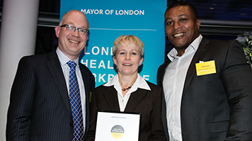 LSBU receives the Healthy Workplace Charter Achievement Award
