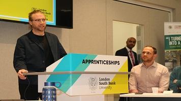 LSBU marks National Apprenticeship Week with celebratory event
