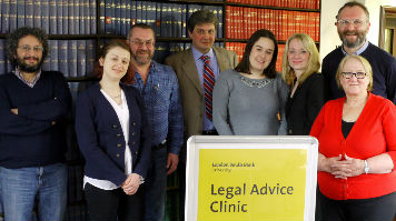 visitors to the legal advice clinic