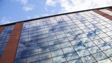 Glass windows of LSBU building