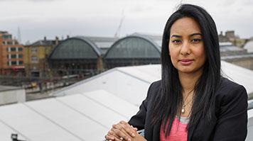 Shazna Choudhry, LSBU alumna