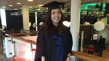Jannel Abellana, alumna, Accounting and Finance BA (Hons)