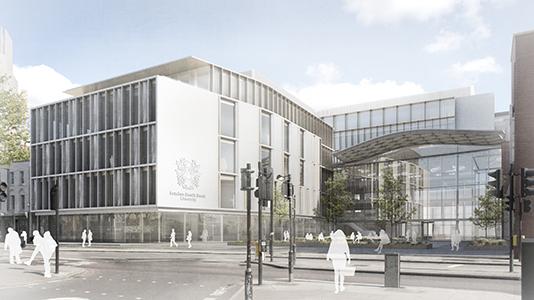 London South Bank University (LSBU) St George's Quarter development London Road University Square