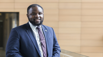 Tyson Nsimbe, alumnus, Accounting and Finance (BA)