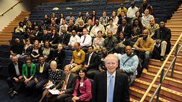 Justice of the Supreme Court Lord Reed lectures LSBU students