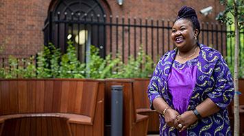 Ruth Oshikanlu MBE, Honorary Doctor of the University
