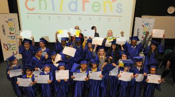 Children in robes